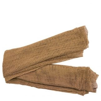 Brown Scrim Scarf