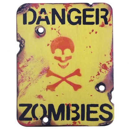 Zombie Sign At A12North.co.uk