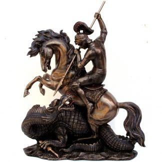 Mounted St George with Dragon