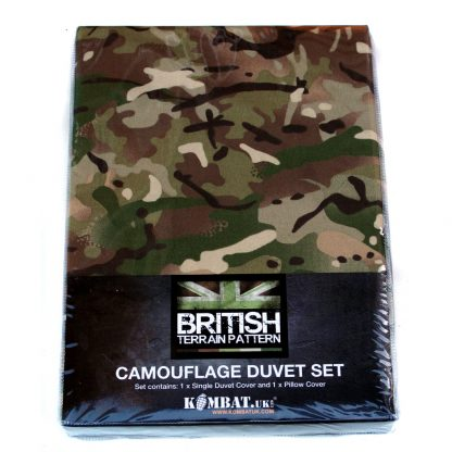 Kids Camo Duvet Set At A12North.co.uk