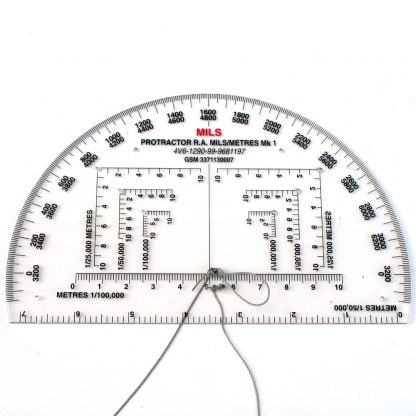Map Protractor Mill