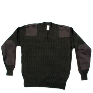 Army V Neck Jumper