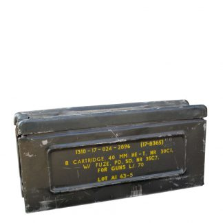 81mm Dutch Ammo Box