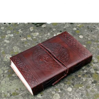 Celtic Style Leather Bound Journal: