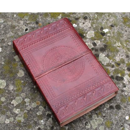 Medieval Style Leather Bound Journal.