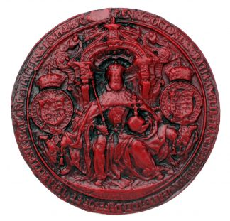 Replica of King Henry VIII's Seal.