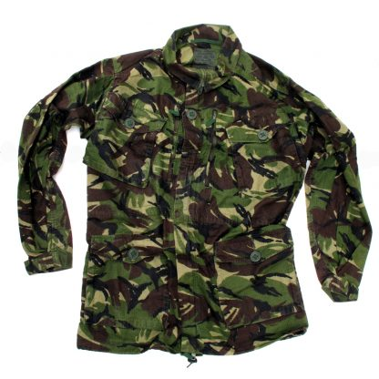 British Army Woodland Camo DPM Jacket
