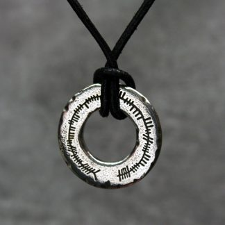 St Justin Ogham Love Ring