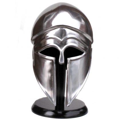 Greek Corinthian Steel Helmet.