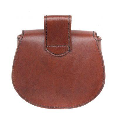 Celtic Leather Belt Bag,