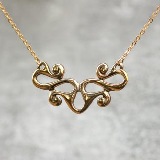 Waldalgesheim Celtic Bronze Necklace. By St Justin.