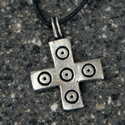 Early Christan Cross Pendant: Saxon Viking Era: