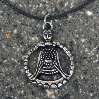 Viking Freya Pendant.