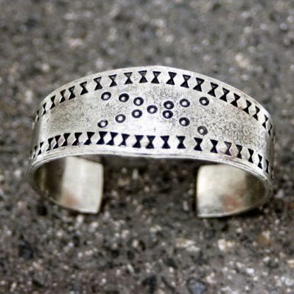 Pewter Viking Bracelet: Large.
