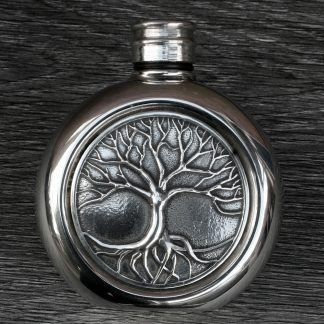 Tree Of Life Hip Flask.