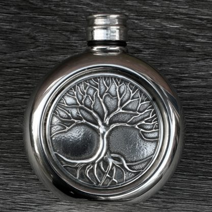 Tree Of Life Hip Flask.