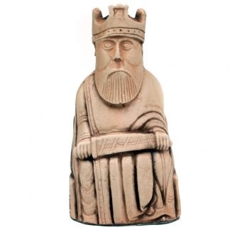 Lewis Chess Piece: Ivory Finish King