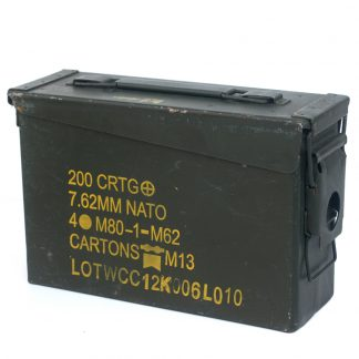 7.62 Ammo Box With Markings:
