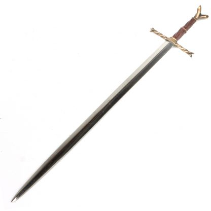 Royal Armouries Writhen Hilt Sword Letter Opener: