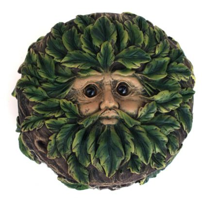 Green Man Trinket Box: Eyes Of The Forest