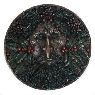 Winter Green Man