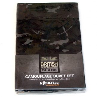 Kids Single Bed Army Camo Quilt Cover.