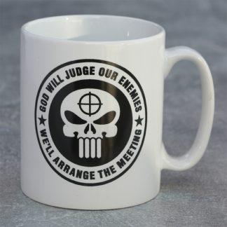 MUG. Punisher Skull Logo