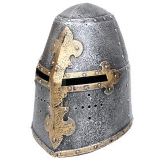 Childrens / Kids Knights Play Helmet.