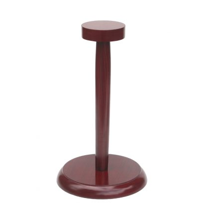 Wooden Display Stand For Helmets: