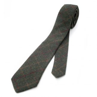 Green Box Tweed Tie: