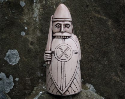 Lewis Chess Piece. The Berserker/Rook