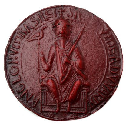 The Seal Of Edward The Confessor.