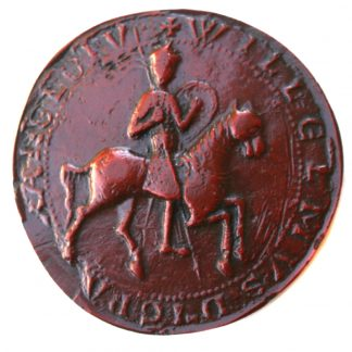 The Great seal Of William Rufus. On Horseback.