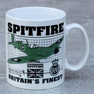 Britains Finest Spitfire Mug