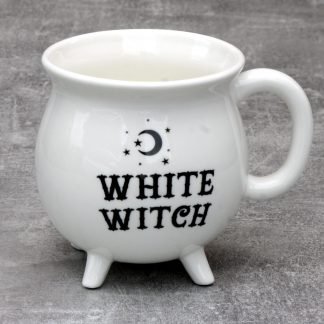 White Witches Cauldron Mug