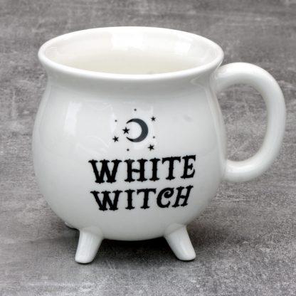 White Witches Cauldron Mug