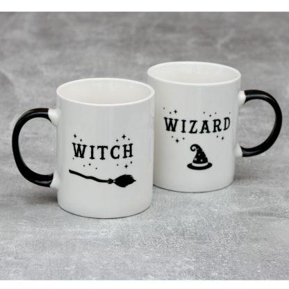 Witch And Wizard Mug Set.