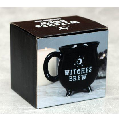 Black Witches Cauldron Mug