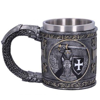 Dark Knight/ Knights Templar Tankard/Mug