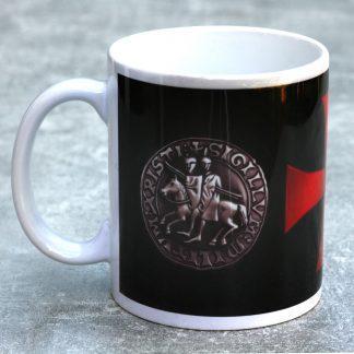Knights Templar Mug Seal and Cross :