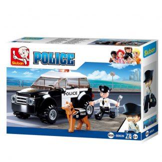 Sluban Bricks: Police Dog Handlers Patrol Car: K9 Unit: