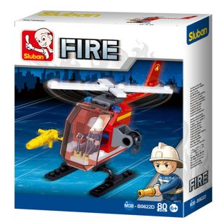Sluban Bricks: Fire Services Helicopter