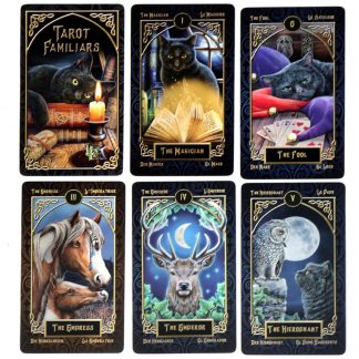 Tarot Familiars Cards. By Lisa Parker: