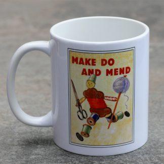 Make Do And Mend Mug