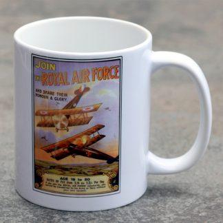 Join The RAF Mug