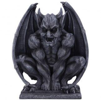 Adalward: The Dark Black Grotesque Devil Gargoyle Figurine.