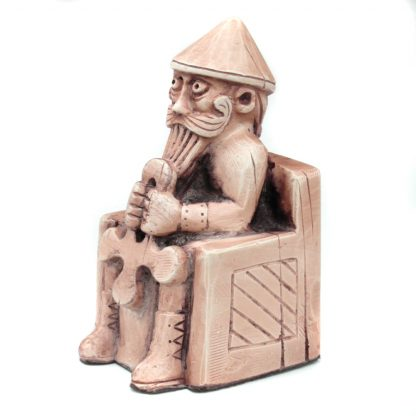 Thor Sitting With Hammer Lewis Inspired Chess Piece