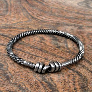 Small Twisted Viking Ring, Bracelet.