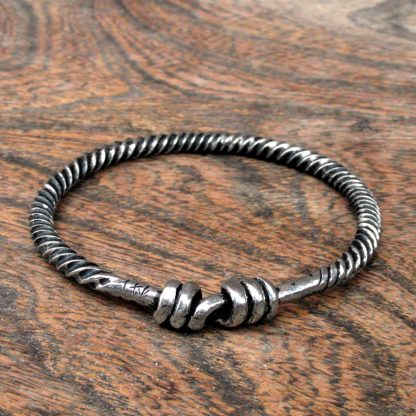 Small Twisted Viking Ring, Bracelet.