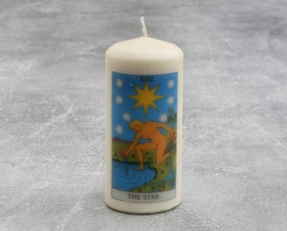 The Star Tarot Candle